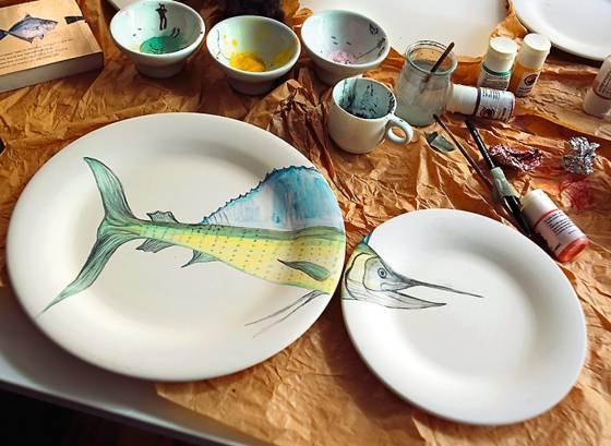 Platos de peces